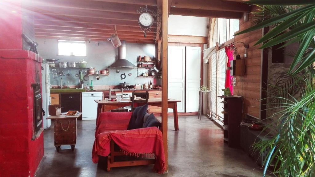 Maison ANCIENNE USINE Jallais 5 pièce(s) 200 m2