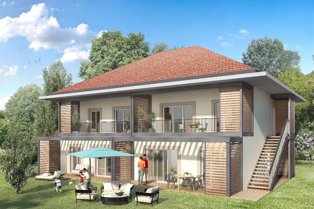 T3 - 60 m² - Superbe vue montagne et proche lac - avec Terrasse, Garage, Piscine et Tennis privés