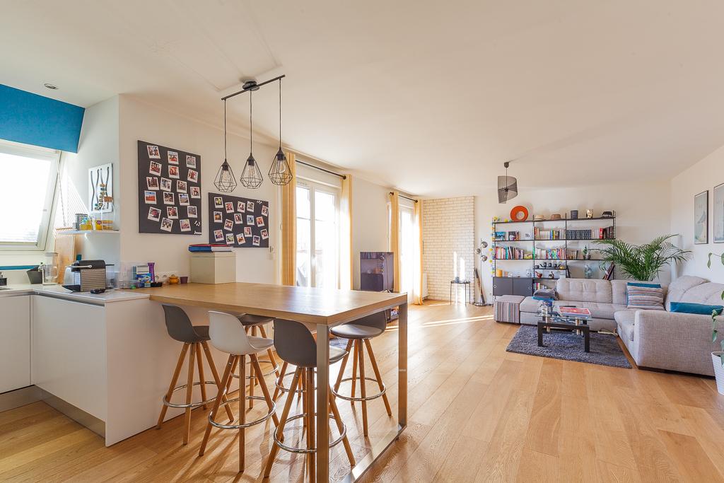 Appartement Voisins Le Bretonneux 4 pièce(s) 96 m2