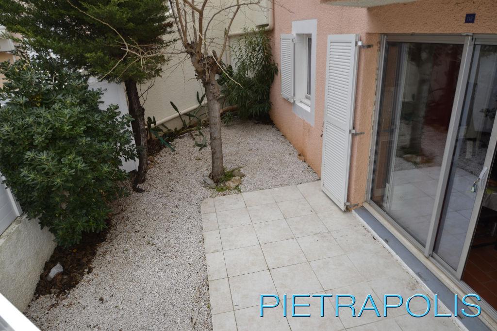 SETE: Appartement  T2 + Jardin de 28m² env.