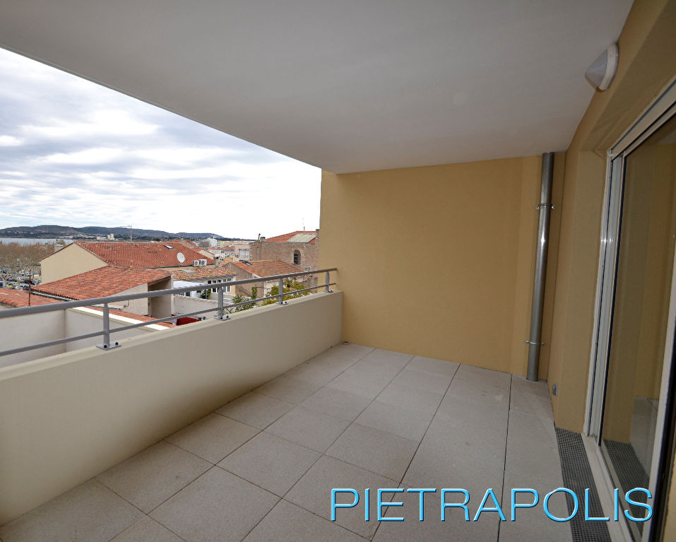 SETE: Appartement T3 67.84 m2, terrasse 20.34 m².