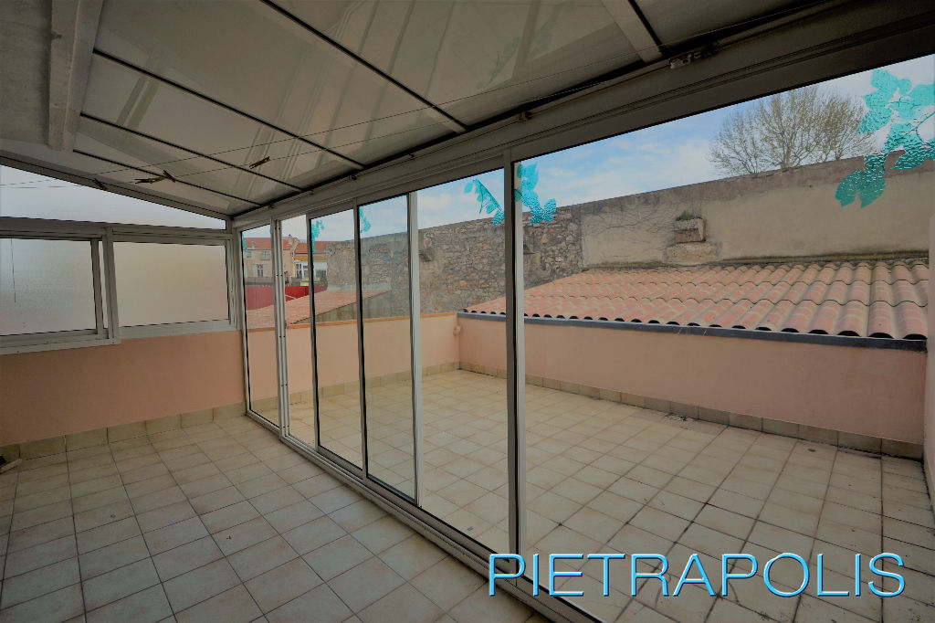 SETE: Appartement T3 + Terrasse 20m² env.