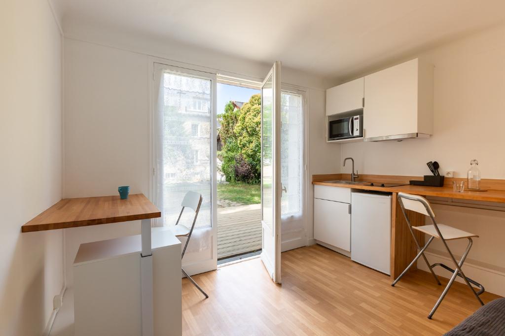 Appartement Rennes 17 m² Terrasse